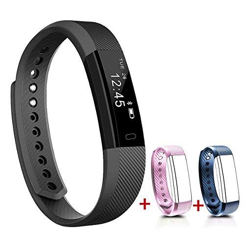NAKOSITE SB2433 Reloj inteligente mujer hombre Smartwatch Pulsera...