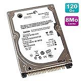 SEAGATE Disque Dur PC Portable 120Go IDE 2.5' Momentus ST9120822A 5400RPM 8Mo