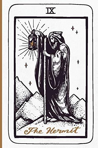 The Hermit Tarot Card Journal: Major Arcana Tarot Card...