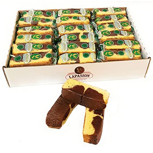 LAPASION - Bizcocho de chocolate tipo marmol | Sin azúcar | 2 Kg