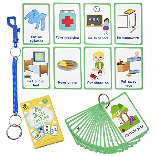 My Daily Routine Cards 27 Flash Cards for Visual aid Special...