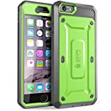 SUPCASE [Unicorn Beetle Pro Series] Case Designed for Apple iPhone 6 Plus 5.5 Inch display w/ Built-in Screen Protector (Green)