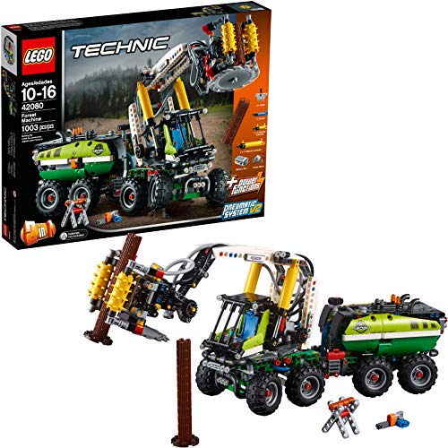 LEGO Technic Forest Machine 42080 Building Kit (1003 Pieces)