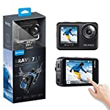 AKASO Brave 7 LE 4K30FPS 20MP WiFi Action Camera with Touch Screen Vlog Camera EIS 2.0 Remote...