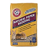 Arm & Hammer for Pets Natural Paper Bedding for Guinea Pigs, Hamsters, Rabbits & All Small Animals | 12.5 Liter Paper Bedding for Small Animals Expands to 30 Liters