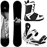 System Package Timeless Snowboard 159 cm-Summit Binding 2019 APX Snowboard Boots 11