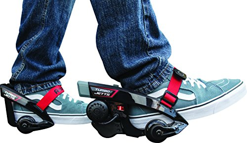 Razor Turbo Jetts Electric Heel Wheels Black/Red Ages 9 Years+