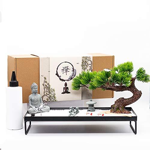 BangBangDa Meditation Decoration Japanese Zen Garden – Home Office...