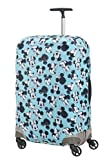 Samsonite Global Travel Accessories Disney - Funda para Maleta en Lycra , M, Azul (Mickey/Minnie Blue)