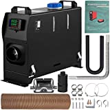 VEVOR Diesel Air Heater, 8KW Parking Heater, All in One 12V Truck Heater, One Outlet Hole, with Black LCD Switch, Fast Heating Diesel Heater, For RV Truck, Boat, Bus, Car Trailer, Motorhomes, Caravans