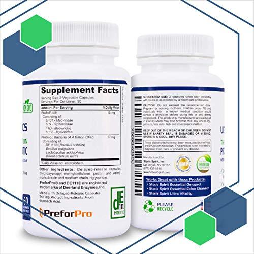 Probiotic Plus Best Prebiotic for Women Men Teens for Ultimate Deep Immune Gut and Digestive Health 6