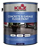 KILZ L377711 1-Part Epoxy Acrylic Interior/Exterior Concrete and...