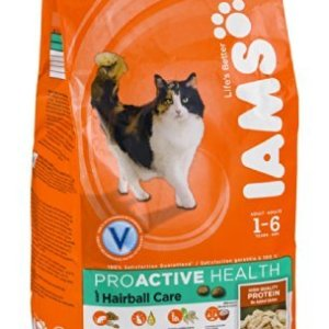 Iams Proactive Health Hairball Care Dry Cat Food (Pack of 2)