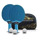 Senston Ensemble de Raquettes de Tennis de Table, Raquettes de Tennis de...