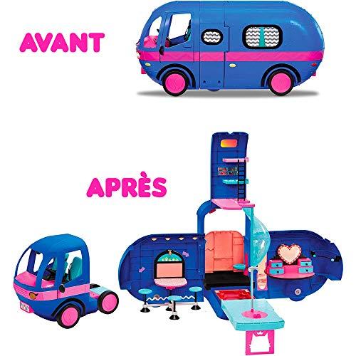 Image 3 - LOL Surprise 4 en1 Glamper Fashion Camper - Avec 55+ Surprises, 10+ aires de détente & Plus encore - Bleu électrique - OMG Série