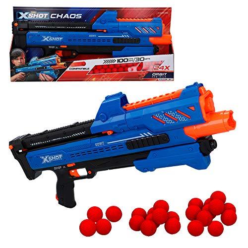 X-Shot - Pistola de bolas gomaespuma X-Shot Chaos Orbit (462