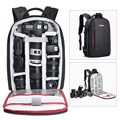BESCHOI - Mochila para cámara réflex Digital, Impermeable, para cámaras de Fotos Sony,...