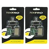 Tektro E10.11 Organic Compound Disc Brake Pads Auriga, Draco, Orion, 2 Pack, STB1788
