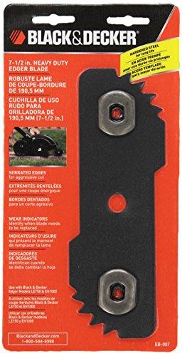 BLACK+DECKER EB-007 Edge Hog Heavy-Duty Edger Replacement Blade, 7-1/2-inch