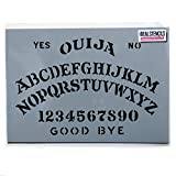 Ouija Board Stencil/Halloween Decor Painting Stencil for Painting on Skin as Part of a Halloween Costume, or Paint Walls, Fabrics and Furniture (M/ 9.8X14.5' / 25X37CM)