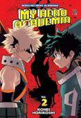 My hero academia: boku no hero - volumen 2