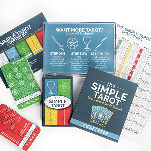 The Simple Tarot Deck Starter Kit: Beginner Tarot Cards and...