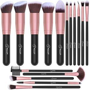BESTOPE Makeup Brushes 16 PCs Makeup Brush Set 8