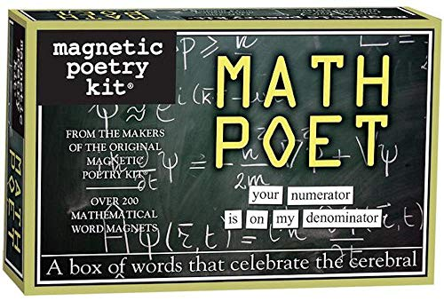 Magnetic Poetry - Math Poet Kit - Words for Refrigerator -...