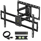 USX MOUNT Full Motion TV Wall Mount for Most 47-84 inch Flat Screen/LED/4K TVs, TV Mount Bracket...