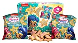Shimmer and Shine Stars and Moons Sprinkled Shortbread Cookie Snacks, Pack of 12, 1 oz Pouches