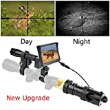 Bestsight DIY Digital Night Vision Scope for Rifle Hunting with Camera and 5' Portable Display Screen