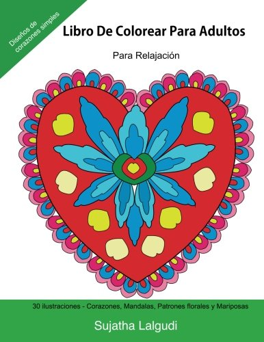 Libro De Colorear Para Adultos: Para Relajacion: Relájate coloreando patrones, Libro colorear adult