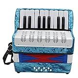 TOOGOO 17 Instruments de Musique éDucatifs Professionnels pour AccordéOn pour Enfants Adultes LéGers