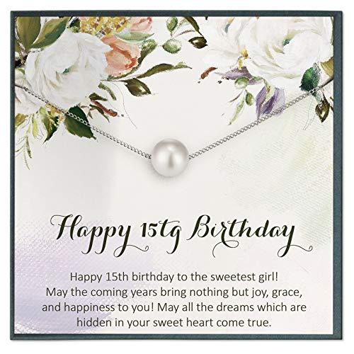 Grace of Pearl Regalos de 15º cumpleaños para niña de 15 años 15 cumpleaños regalos para 15 cumpleaños regalos para quinceañera regalos para quinceañera regalos de cumpleaños para niña