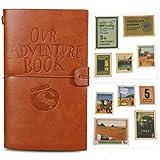Notre livre d'aventure Journal Bloc-notes en cuir Bloc-notes Journal de voyage Agenda quotidien...