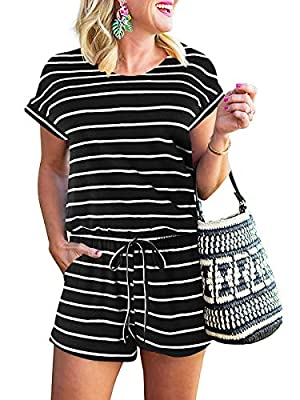 Material: 35% Polyester and 65% Spandex;soft,comfy light weight and breathable fabric. Occasion:Cute and stylish,The turnaround rate is high on the daily.On vacation,Basic, home, casual,leisure,holiday,outdoor,beach.A cute perfect for summer and spri...