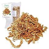 Esfagno Chileno Premium en Fibra 150 gr., Sustrato Natural de Esfagno Musgo para Orqudeas y Bonsai, Sphagnum Moss