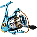 Sougayilang Fishing Reel Spinning 11+1bb Left/Right Interchangeable Spinner Gear High Speed Smooth Bass Fishing Reels (AF1000)