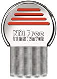Das Original seit 1998 NitFree Terminator Läusekamm bzw Nissenkamm entfernt sicher Läuse, Eier und Nissen deutsche Version