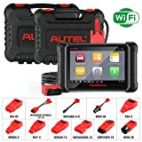 Autel DS808K Automotive Scanner Diagnostic Tool - MaxiDAS DS808 Kit Vehicle Maintenance and Service Tablet for Oil Reset/TPMS Programming/EPB/ABS Bleed/SRS/SAS/DPF/Active Test (Same function as MS906)