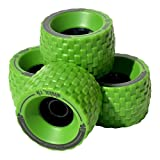 MBS All-Terrain Longboard Wheels - 100mm X 65mm - Green