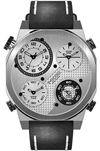 Timecode Quarzuhr Man Boson 2013 schwarz 49 mm