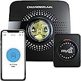 Chamberlain MyQ Smart Garage Hub - Wi-Fi enabled Garage Hub with Smartphone Control, Model MYQ-G0301, Old Version, Black