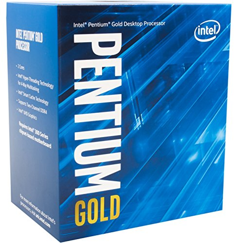 Intel Pentium Gold G5600 Desktop Processor 2 Core 3.9GHz...
