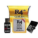 Les adaptateurs Gold Pro SDHC et USB avec 32 Go incluent les jeux DS, le noyau...