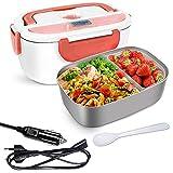 GalaxyHome Lunch Box Chauffante Électrique - Gamelle Chauffante 3 En 1 Pour Voiture, Maison,...