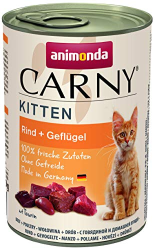 animonda Carny Kitten Katzenfutter, Nassfutter Katzen bis 1 Jahr,...