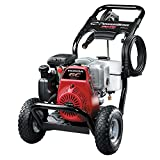PowerBoss 3100 MAX PSI at 2.4 GPM Gas Pressure Washer with Detergent Tank, 25-Foot High-Pressure Hose, and 4 Quick-Connect Nozzles, Powered by HONDA