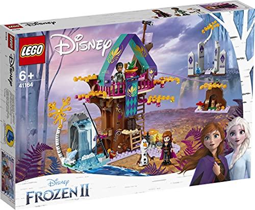 LEGO DisneyFrozenII LaCasasull'alberoIncantata con la PrincipessaAnna,OlafeMattias,2Figure di Coniglietti e Pesci,Set Avventure nella Foresta per Bambini e Bambine dai 6 Anni in su, 41164