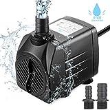 Zaeel mini pompe à eau, Submersible pompe à eau 25w 1800L/H...
